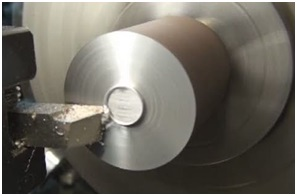 CNC Lathe facing