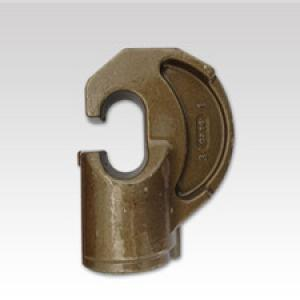 Steel forged lock part